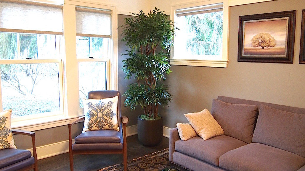 Trees plants silk thumb for Artificial tree for living room