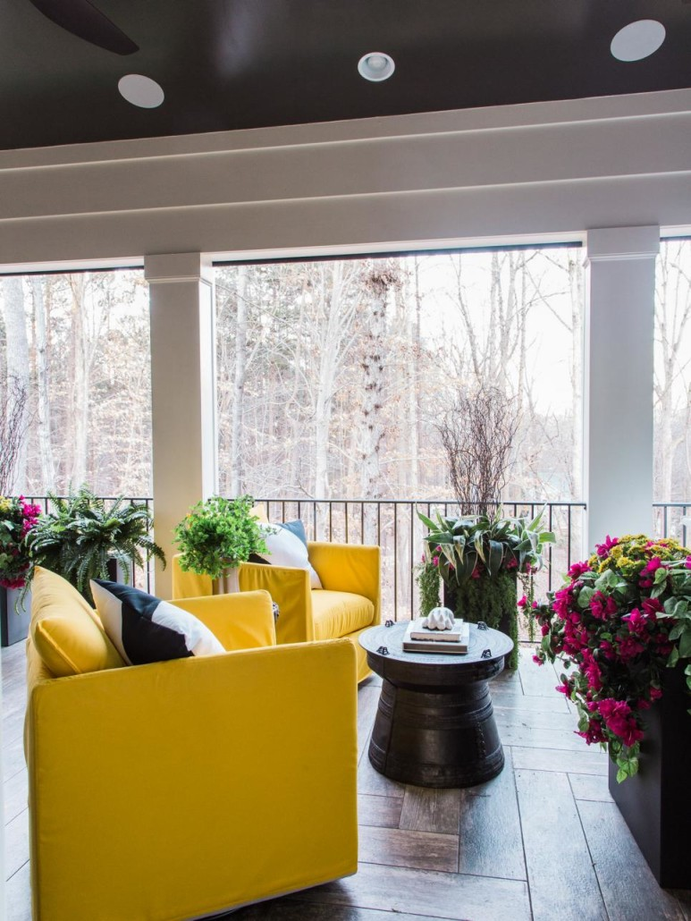 HGTV's 2016 Smart Home features The Silk Thumb's plants and